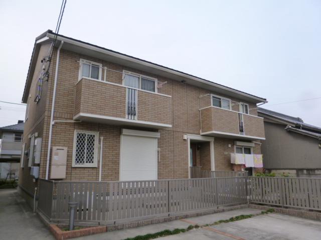 愛知県一宮市、尾張一宮駅徒歩24分の築11年 2階建の賃貸アパート