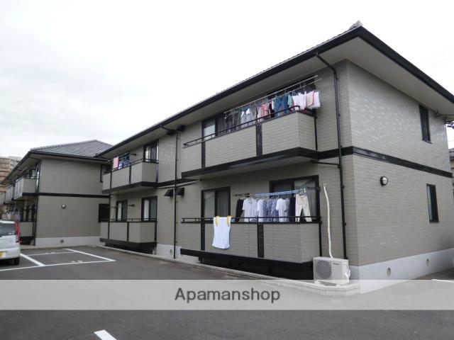 愛知県一宮市、尾張一宮駅徒歩18分の築17年 2階建の賃貸アパート