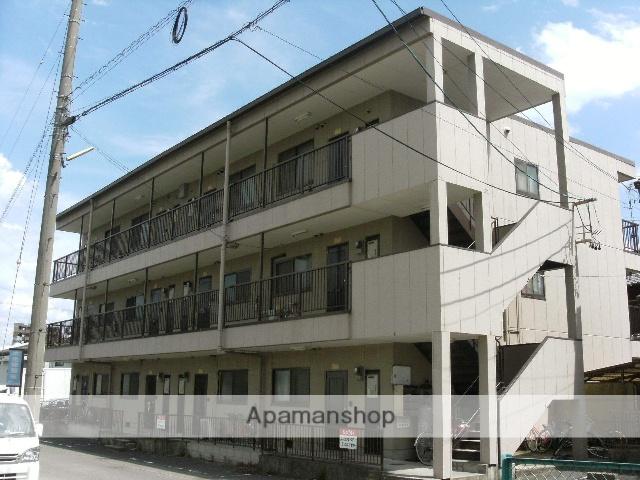 愛知県一宮市、奥町駅徒歩11分の築23年 3階建の賃貸アパート