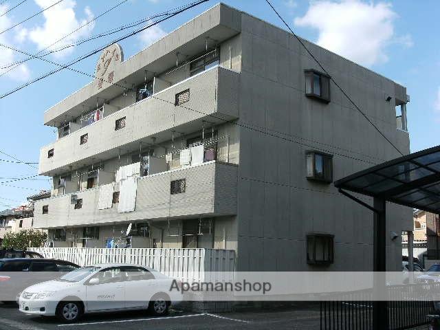 愛知県一宮市、尾張一宮駅名鉄バスバス19分春明下車後徒歩4分の築22年 3階建の賃貸マンション