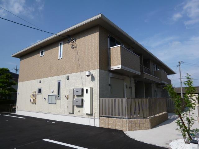 愛知県一宮市、石刀駅徒歩27分の築4年 2階建の賃貸アパート