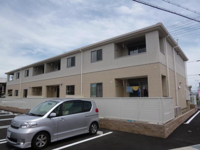 愛知県一宮市、萩原駅徒歩2分の築4年 2階建の賃貸アパート