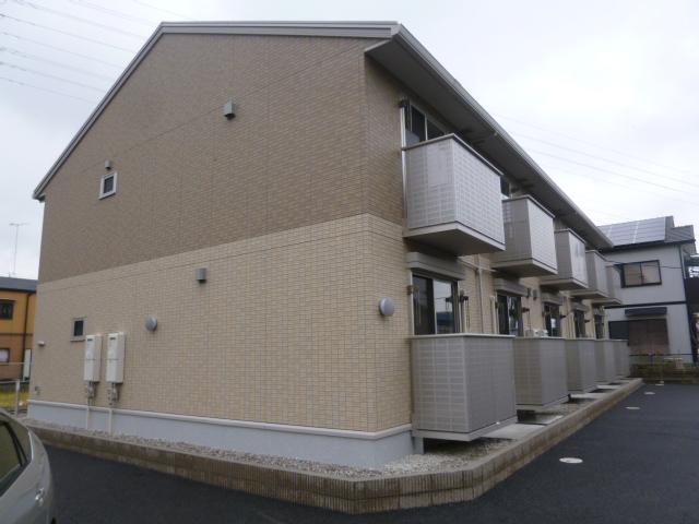 愛知県一宮市、島氏永駅徒歩15分の築4年 2階建の賃貸アパート