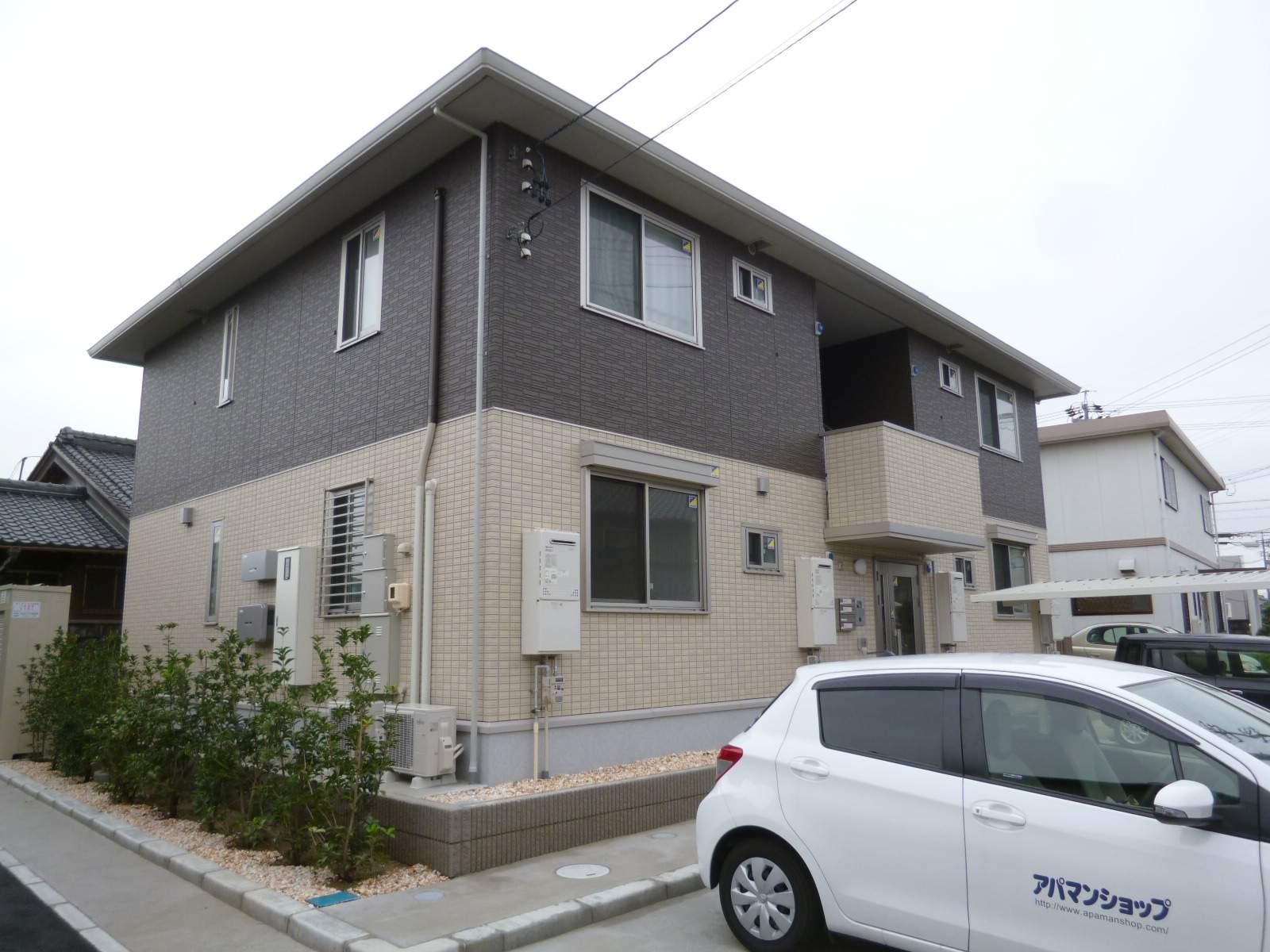 愛知県一宮市の築2年 2階建の賃貸アパート