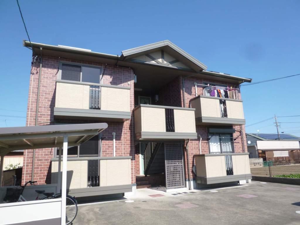 愛知県一宮市の築15年 2階建の賃貸アパート