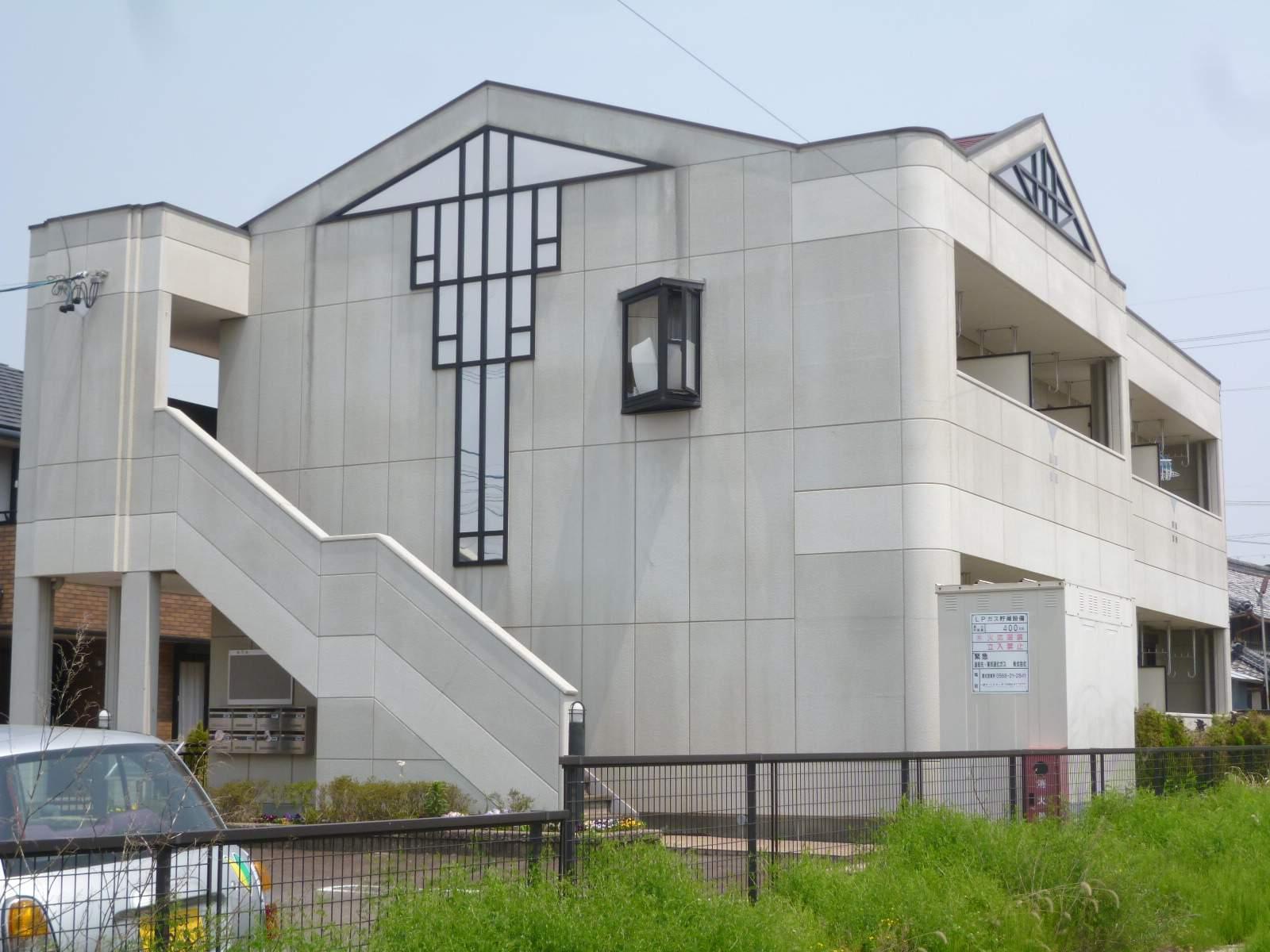 愛知県一宮市、石仏駅徒歩28分の築15年 2階建の賃貸アパート