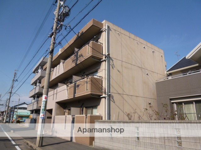 愛知県一宮市、尾張一宮駅徒歩8分の築13年 3階建の賃貸マンション