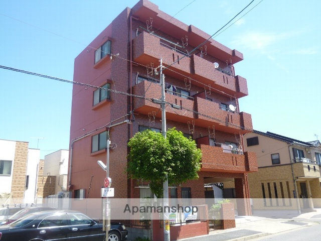 愛知県名古屋市北区、尼ヶ坂駅徒歩6分の築27年 4階建の賃貸マンション
