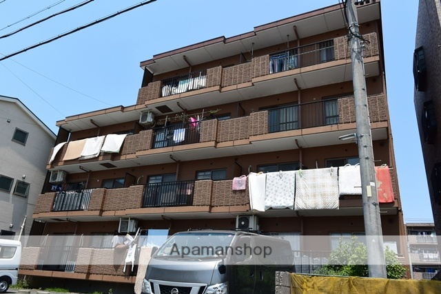 愛知県名古屋市北区、味美駅徒歩19分の築24年 4階建の賃貸マンション