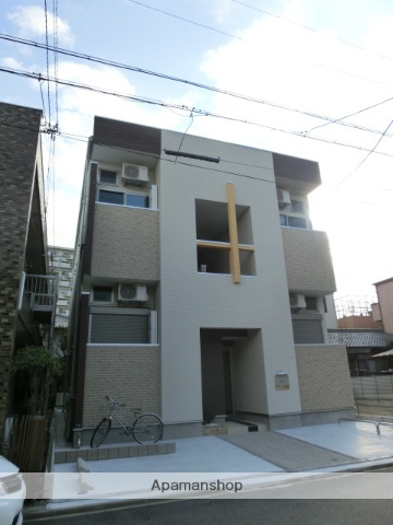 愛知県名古屋市北区、黒川駅徒歩11分の築3年 2階建の賃貸アパート