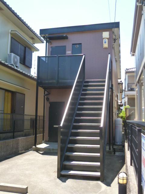 愛知県名古屋市北区、味鋺駅徒歩16分の築15年 2階建の賃貸アパート