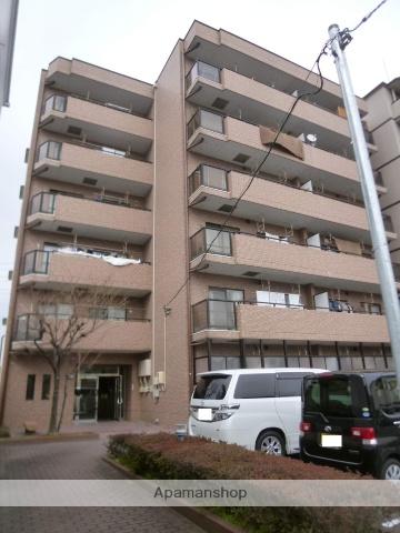 愛知県名古屋市北区、味鋺駅徒歩24分の築24年 6階建の賃貸マンション