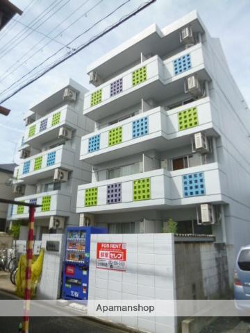 愛知県名古屋市北区、森下駅徒歩11分の築26年 4階建の賃貸マンション