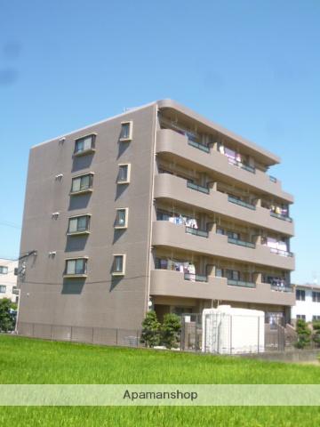 愛知県名古屋市北区、味鋺駅徒歩16分の築24年 5階建の賃貸マンション