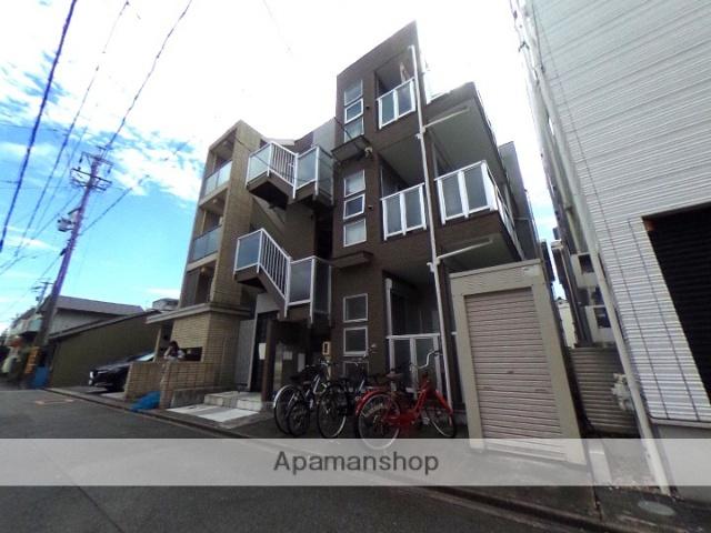 愛知県名古屋市北区、尼ヶ坂駅徒歩14分の築9年 3階建の賃貸アパート