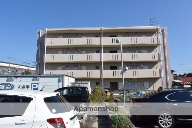 愛知県名古屋市北区、味美駅徒歩22分の築25年 4階建の賃貸マンション