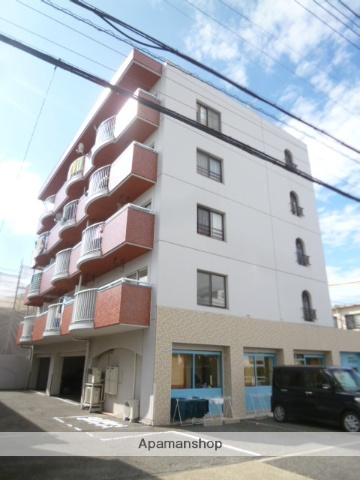 愛知県名古屋市北区、上飯田駅徒歩14分の築34年 5階建の賃貸マンション