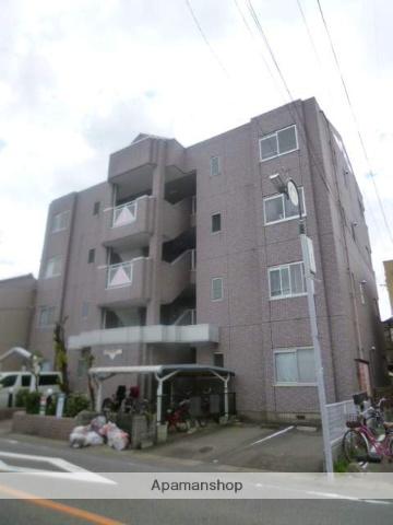 愛知県名古屋市北区、比良駅徒歩11分の築23年 4階建の賃貸マンション