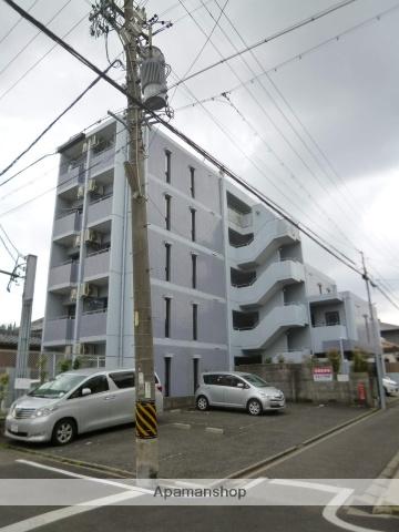 愛知県名古屋市北区、尼ヶ坂駅徒歩6分の築27年 5階建の賃貸マンション