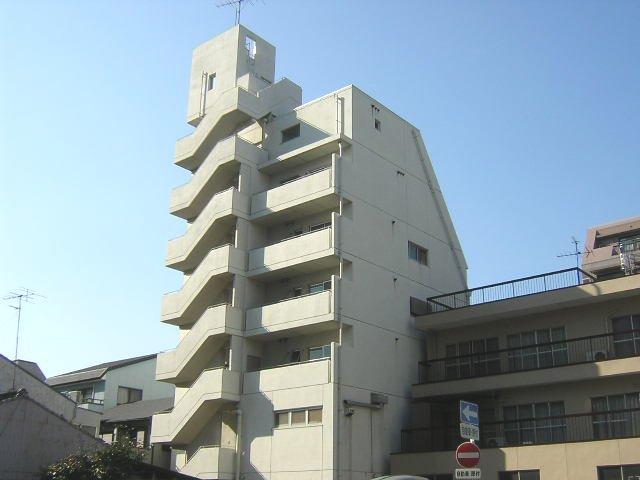 愛知県名古屋市北区、森下駅徒歩9分の築27年 7階建の賃貸マンション