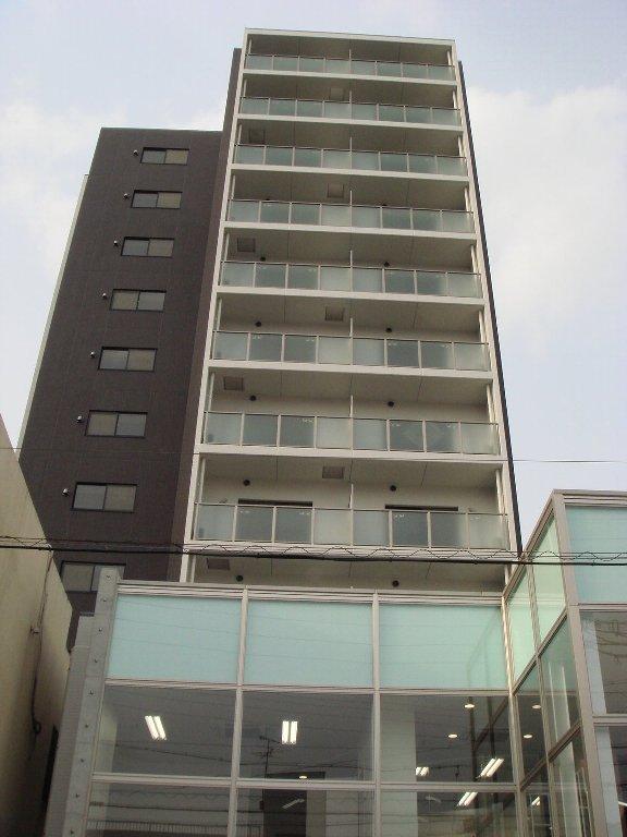 愛知県名古屋市東区、尼ヶ坂駅徒歩14分の築7年 12階建の賃貸マンション