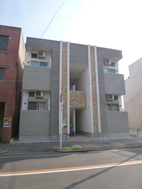 愛知県名古屋市北区、東大手駅徒歩8分の築2年 2階建の賃貸アパート