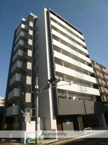 愛知県名古屋市北区、志賀本通駅徒歩12分の築2年 9階建の賃貸マンション