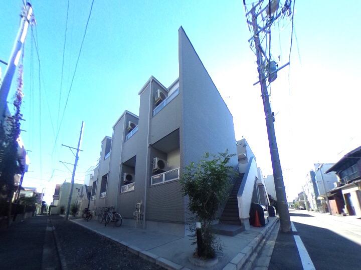 愛知県名古屋市北区、清水駅徒歩11分の築1年 2階建の賃貸アパート