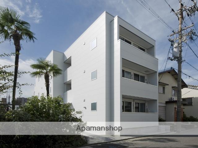 愛知県名古屋市北区、志賀本通駅徒歩19分の新築 3階建の賃貸アパート