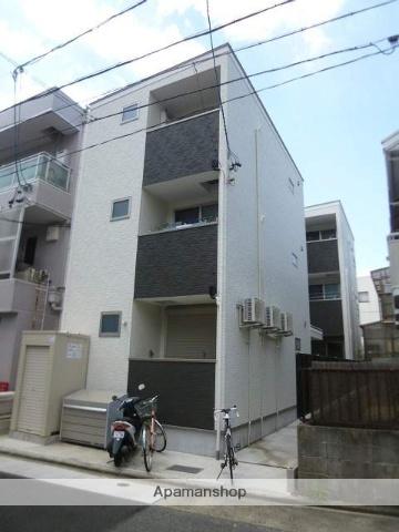 愛知県名古屋市北区、志賀本通駅徒歩17分の新築 3階建の賃貸アパート