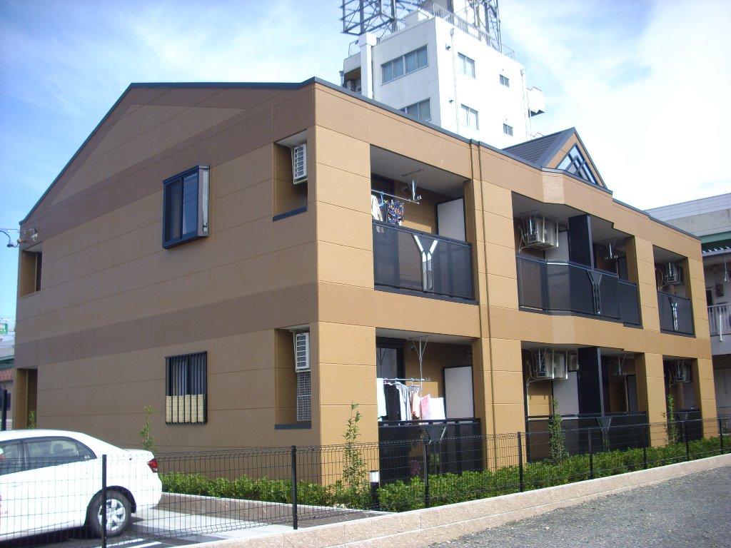 愛知県名古屋市北区、味鋺駅徒歩45分の築5年 2階建の賃貸アパート