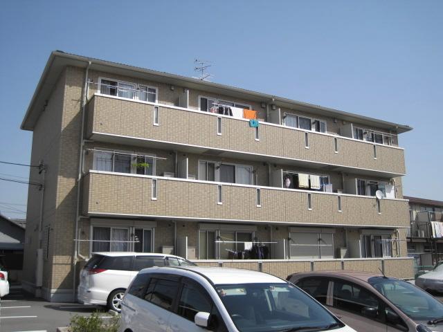 愛知県名古屋市北区、比良駅徒歩15分の築9年 3階建の賃貸アパート