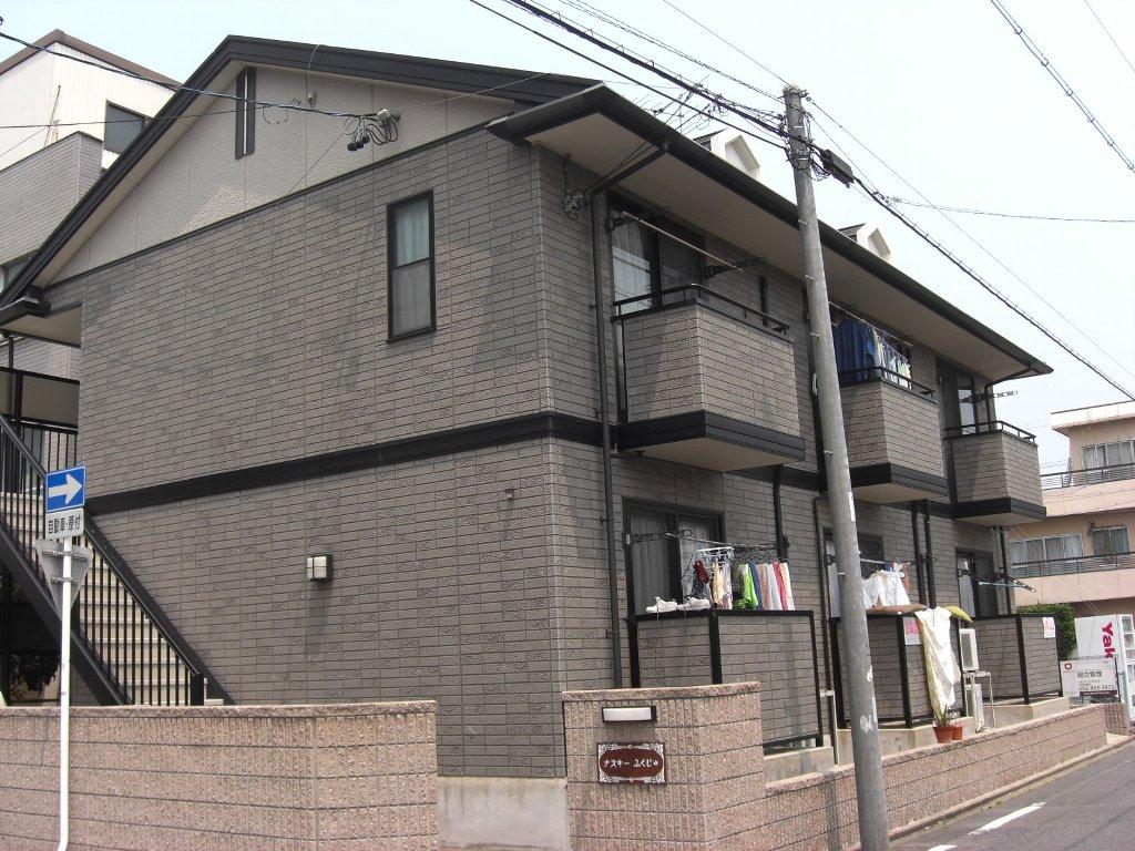 愛知県名古屋市北区、平安通駅徒歩10分の築17年 2階建の賃貸アパート