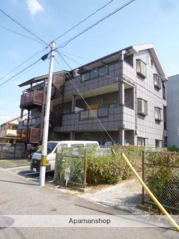 愛知県春日井市、勝川駅徒歩30分の築26年 3階建の賃貸アパート