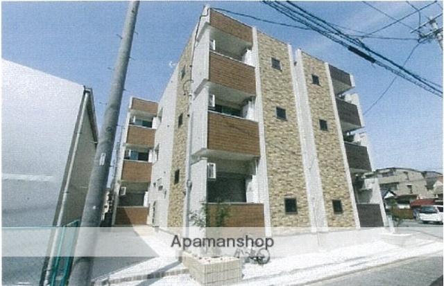 愛知県名古屋市北区、尼ヶ坂駅徒歩9分の築3年 3階建の賃貸アパート