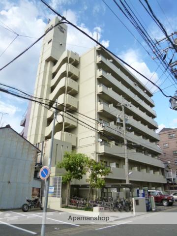 愛知県名古屋市北区、志賀本通駅徒歩13分の築27年 8階建の賃貸マンション