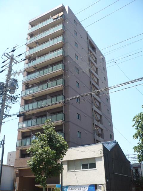 愛知県名古屋市中区、鶴舞駅徒歩12分の築10年 11階建の賃貸マンション