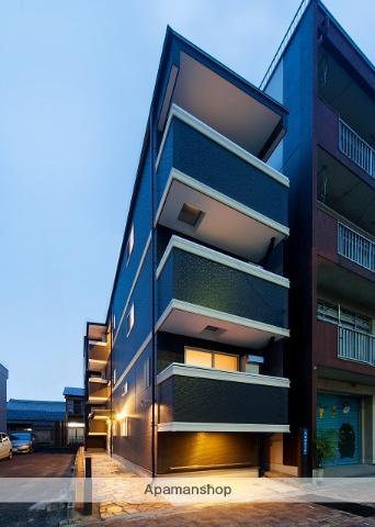 愛知県名古屋市中村区、中村公園駅徒歩5分の築4年 3階建の賃貸アパート