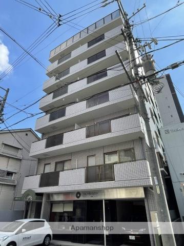 愛知県名古屋市中区、金山駅徒歩14分の築26年 8階建の賃貸マンション
