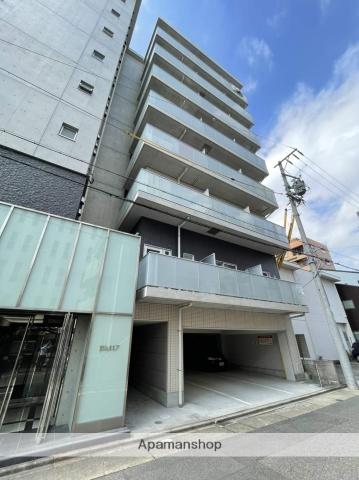 愛知県名古屋市中村区、名古屋駅徒歩8分の築4年 8階建の賃貸マンション