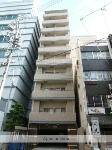 愛知県名古屋市中区、栄町駅徒歩9分の築3年 10階建の賃貸マンション