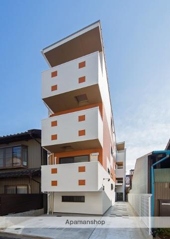 愛知県名古屋市中村区、本陣駅徒歩11分の築3年 3階建の賃貸アパート