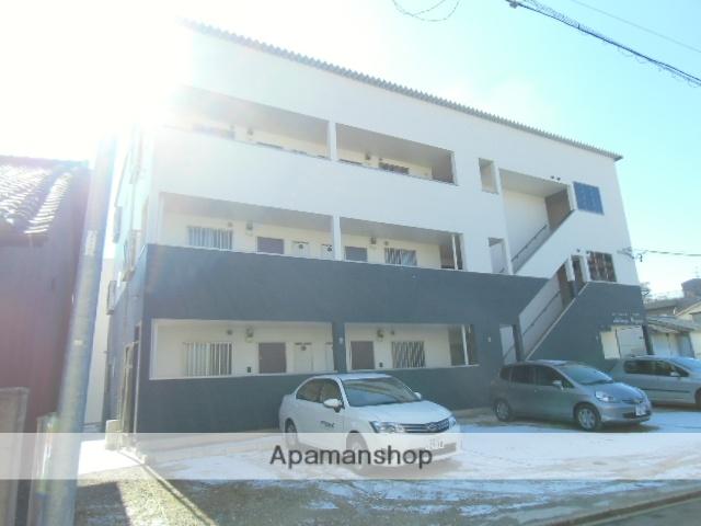 愛知県名古屋市中村区、名古屋駅徒歩11分の築3年 3階建の賃貸アパート