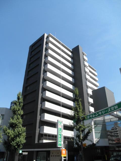 愛知県名古屋市中区、矢場町駅徒歩12分の築8年 13階建の賃貸マンション