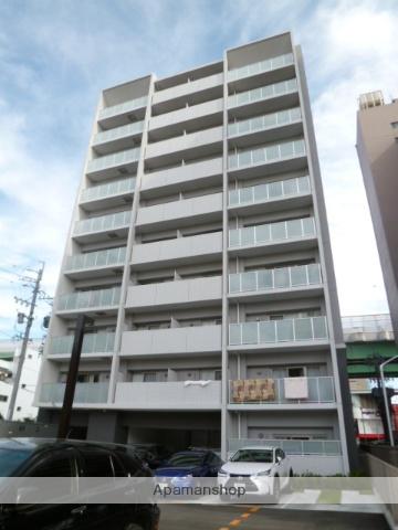 愛知県名古屋市中川区、金山駅徒歩13分の築2年 10階建の賃貸マンション