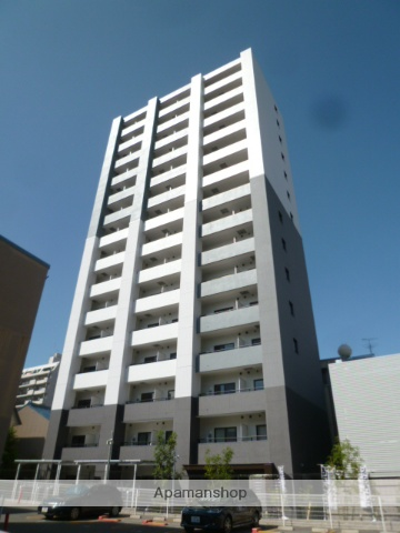 愛知県名古屋市中区、東別院駅徒歩8分の築1年 15階建の賃貸マンション
