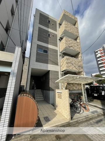 愛知県名古屋市中村区、米野駅徒歩13分の築1年 4階建の賃貸アパート