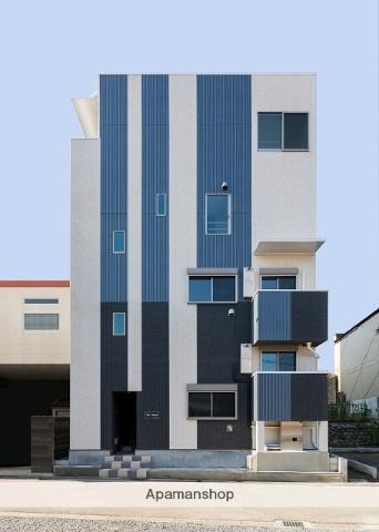 愛知県名古屋市西区、西枇杷島駅徒歩10分の築2年 4階建の賃貸アパート