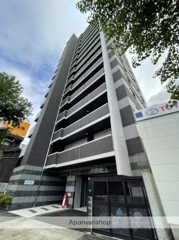 愛知県名古屋市東区の新築 15階建の賃貸マンション