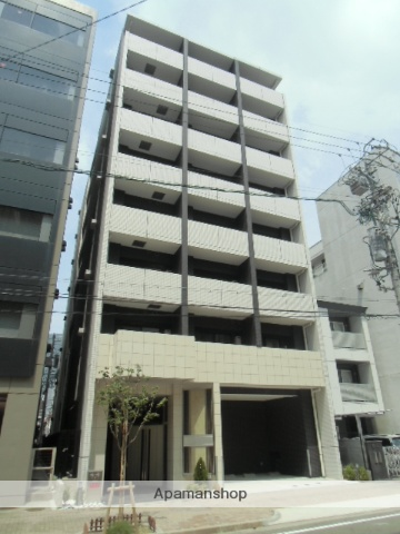 愛知県名古屋市中村区、名鉄名古屋駅徒歩8分の築1年 8階建の賃貸マンション